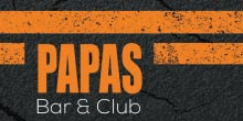 672 logo papas bar club1