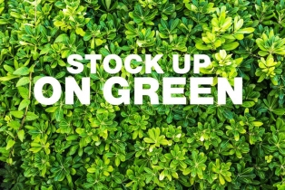Stock up on Green