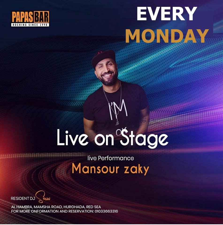 Mansour Live on Stage