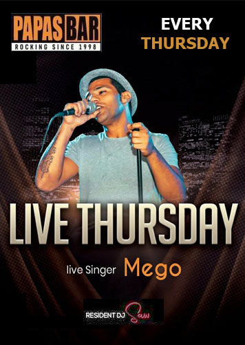 Live Thursday @Papas Bar