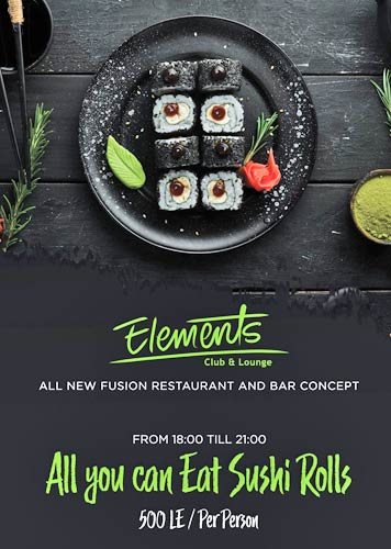Sushi - All you can eat @Elements